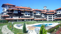 Bansko during the summer