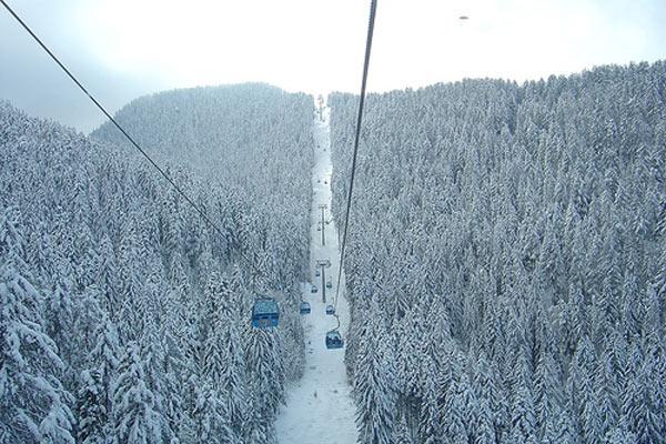 Gondola Cabin Lift Bansko Bulgaria